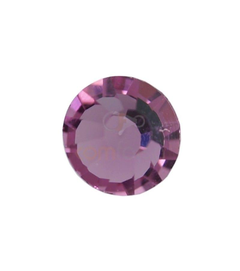 Cristal mc chaton7 mm ROSE