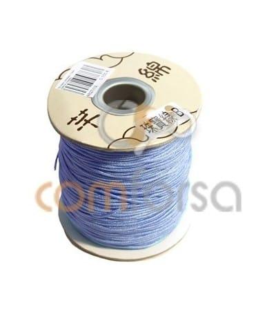 Nylon tressé 1.5 mm (mètres) Bleu clair