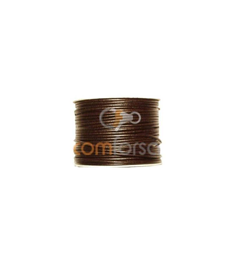 Cuir marron 3 mm (m