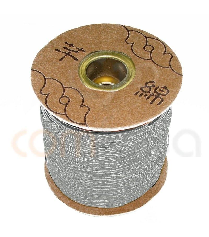 Nylon tressé  gris 1.5mm