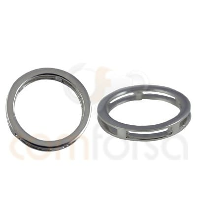Breloque anneau 20 mm argent 925ml
