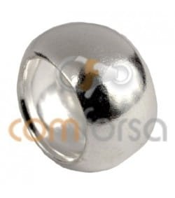 Entretoise 7 mm (int) x6 (large) Argent 925