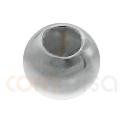 Boule lisse 2,5 mm (0.9) argent 925ml