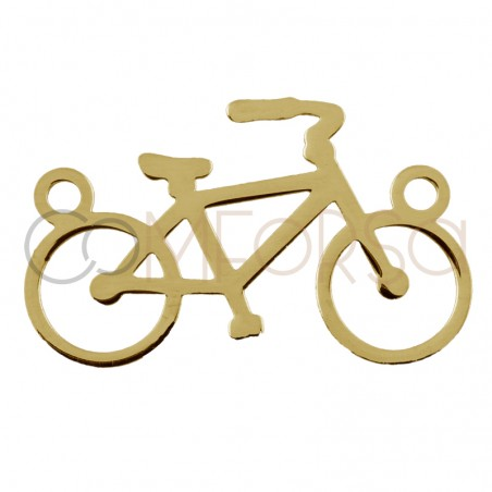 Intercalaire vélo 16 x 10 mm argent 925