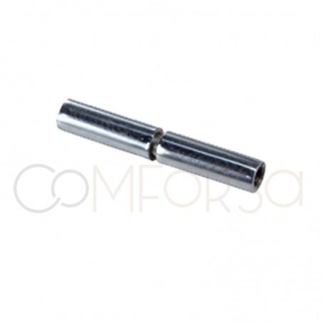 Fermoir avec aimant en acier 18 x 3 mm (Ø 1.5)
