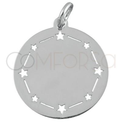 copy of Colgante estrella polar plata 925