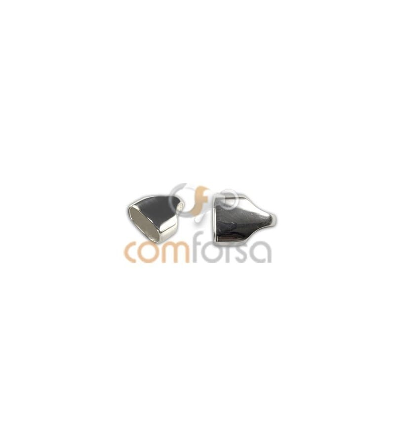 Embout ovale 6x3 mm