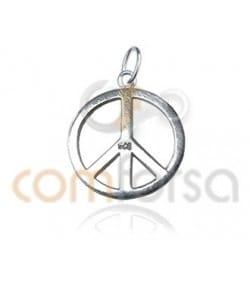 Pendentif paix 10 mm