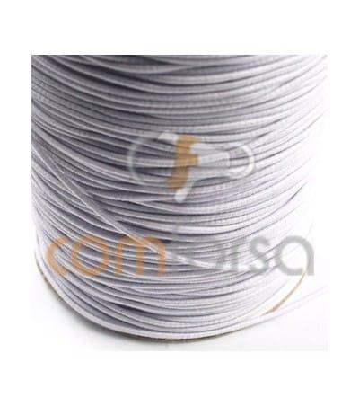 Ruban élastique 1.2 mm blanc