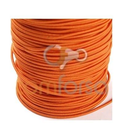 Ruban élastique 2 mm orange