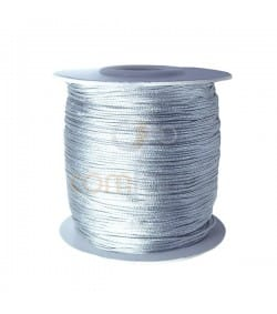 Nylon tressé 0,8 mm gris