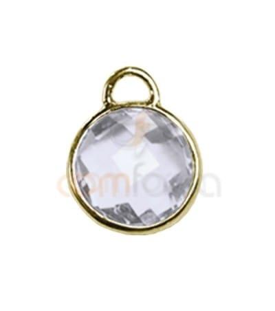 Entretoise circulaire 1 anneau 8 mm WHITE
